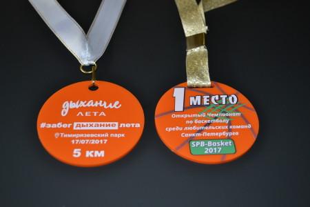 медали из пластика