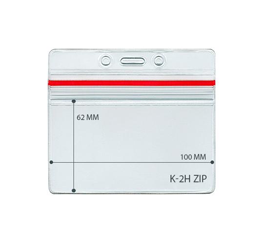 Карман герметичный для бейджа КВ-K-2H Zip