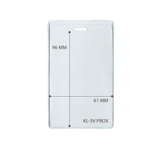 Карман для прокси-карт вертикальный-Kl-3V PROX