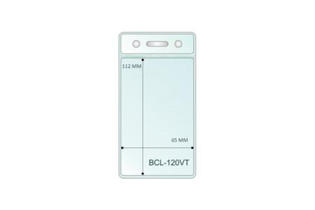 Вертикальный кармашек для бейджа BCL-120VT