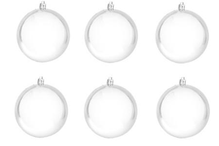 белые шары 80 мм