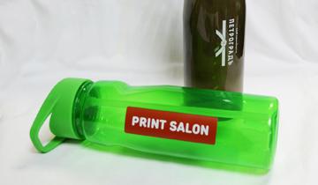 Спортивные бутылки для воды с печатью логотипа
