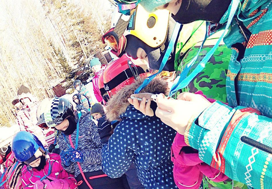 медали для веселых лыжных стартов