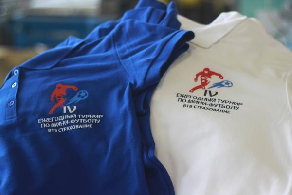 Рубашки поло с логотипом футбольного чемпионата