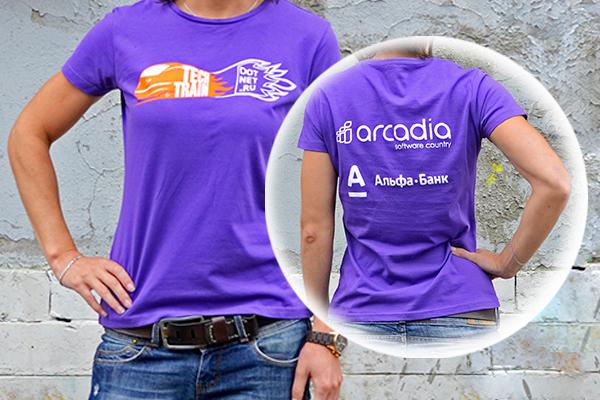 футболки с двухсторонней печатью