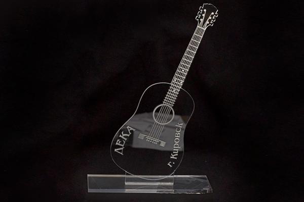 награда из акрила для музыкального конкурса
