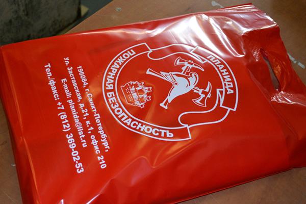 пакеты пвд с логотипом для пожарных