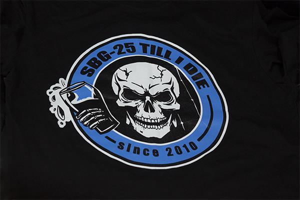 футболки c печатью логотипа пластизолью