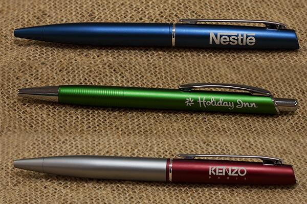 ручки с печатью логотипа