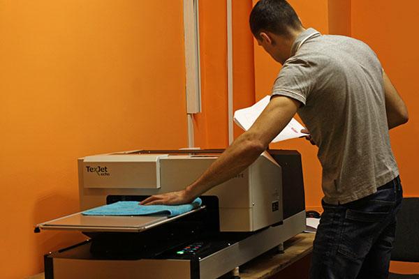 печать по текстилю с помощью DTG принтера TexJet