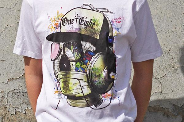 печать DTG на футболке