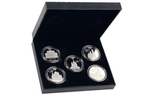 Набор медалей Кремль