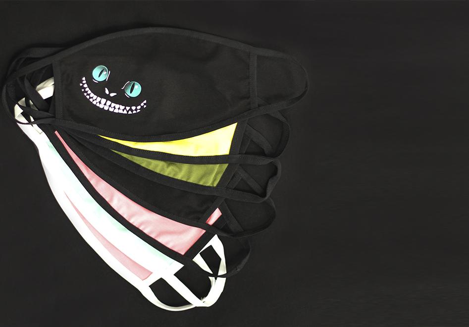 Защитная маска с принтом для лица
