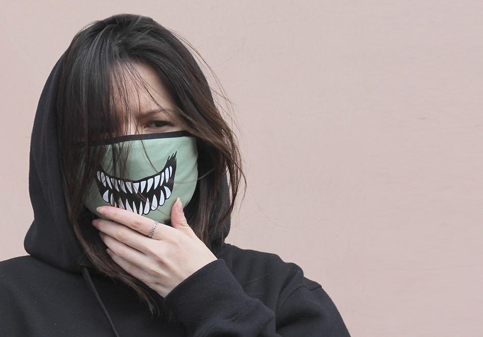 Маска с защитная на лицо