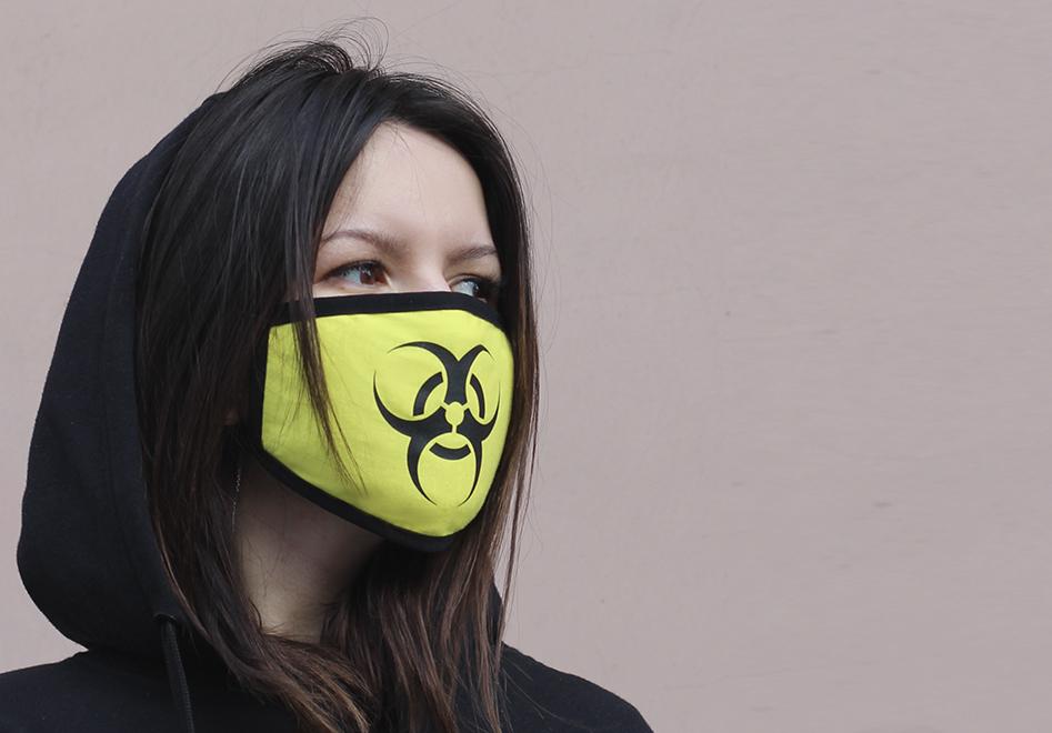 Печать на защитных масках