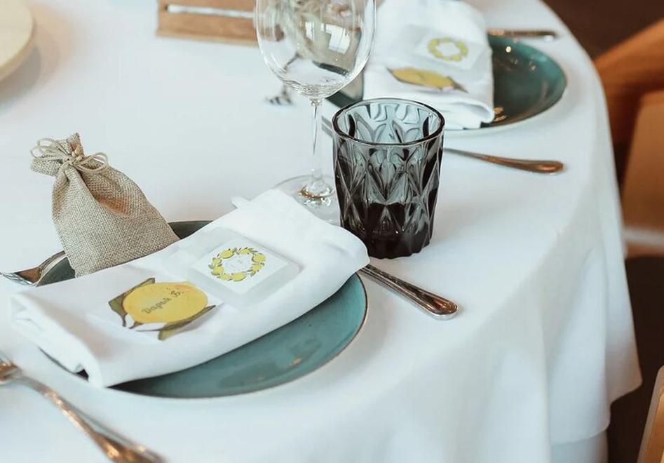 Санитайзеры с печатью для свадебного банкета